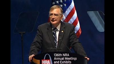 NRA President Kayne Robinson: 2007 Meetings