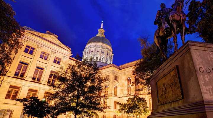 Georgia: Legislature Adjourned Sine Die
