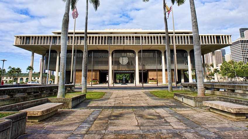 Hawaii: Legislature Adjourns Sine Die
