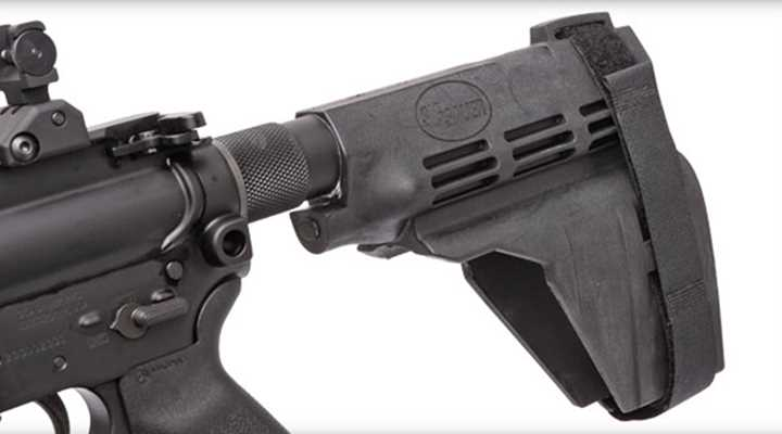"""NRA Files Comments Opposing ATF's """"Stabilizing Brace"""" Proposed Rule"""