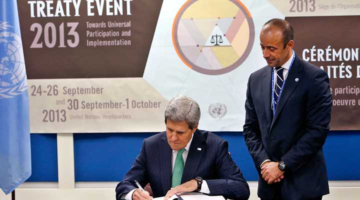 New Lawmakers Inform President of their Opposition to the U.N. Arms Trade Treaty