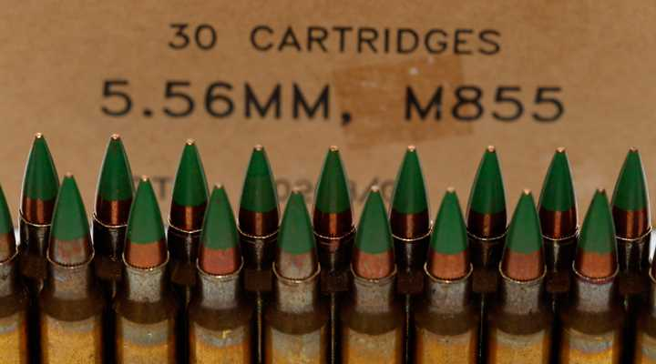 M855 Plot Thickens:  Congressman Proposes Center-Fire Ammo Ban
