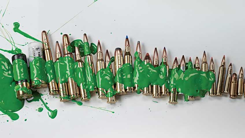 """Green Means """"Go"""" To Ban All Ammo"""