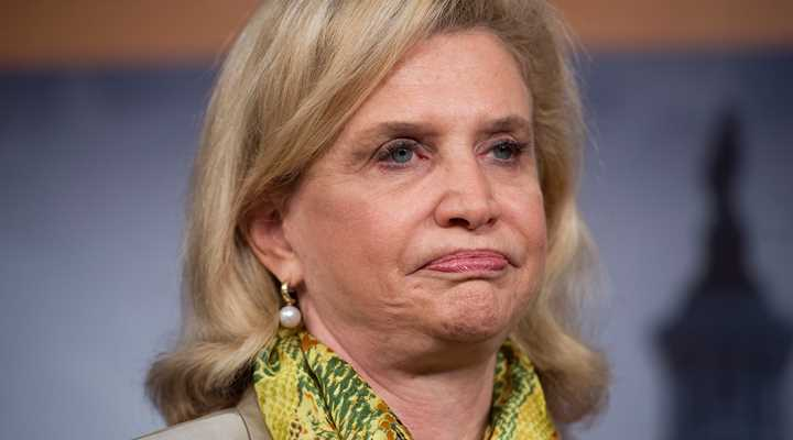 Rep. Carolyn Maloney Flies Anti-gun Flag in U.S. House