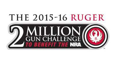 """Ruger's """"2 Million Gun Challenge"""" to Benefit NRA-ILA"""