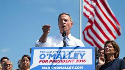Martin O'Malley:  I'm More Anti-Gun Than Hillary!