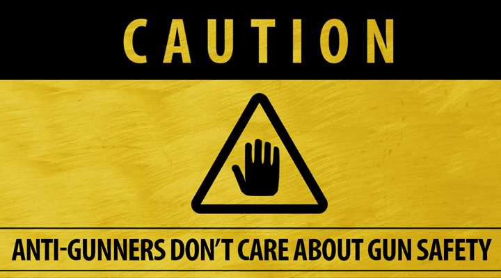 """When Anti-Gunners Say """"Gun Safety,"""" They Don't Mean It"""