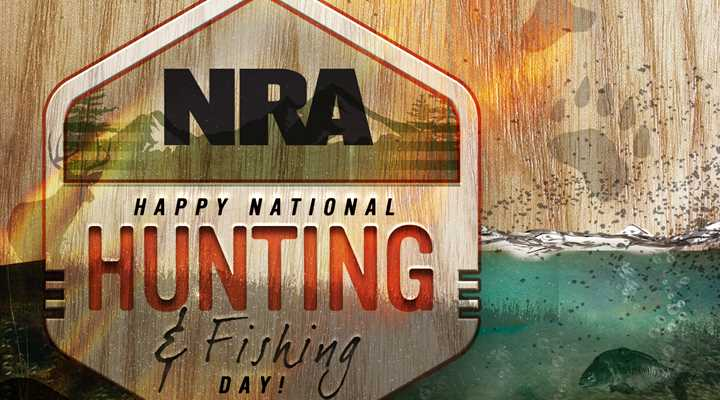 Celebrate the 43rd National Hunting and Fishing Day this Saturday!