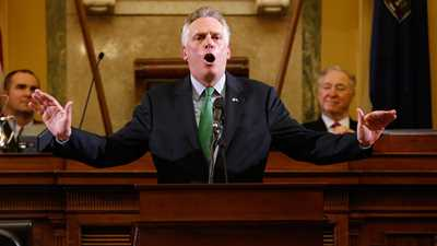 Virginia: Terry McAuliffe issues Executive Order 50 in Virginia