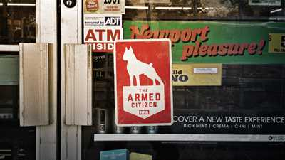 Armed store clerk thwarted robbery