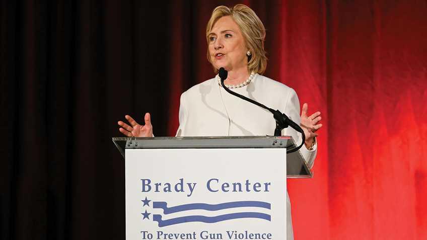 Hillary Clinton Wins Cuomo Award from Brady Campaign