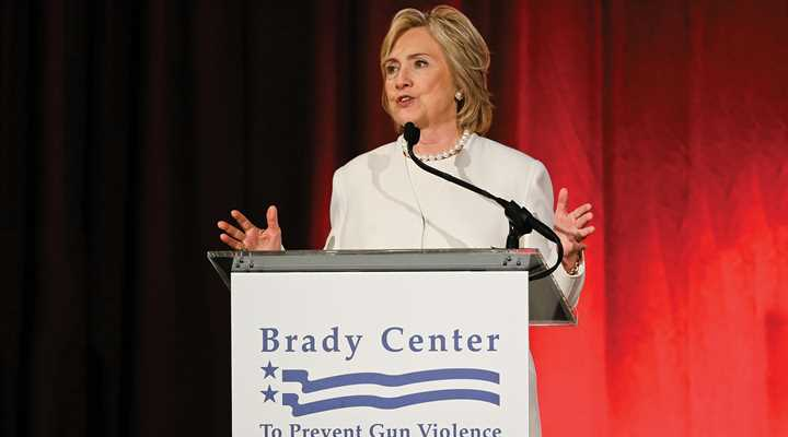 Anti-Gunners Endorse Hillary Clinton for President