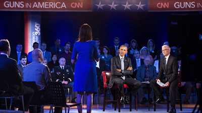 """Obama Misleads, Cites Bogus Data at CNN """"Town Hall"""""""