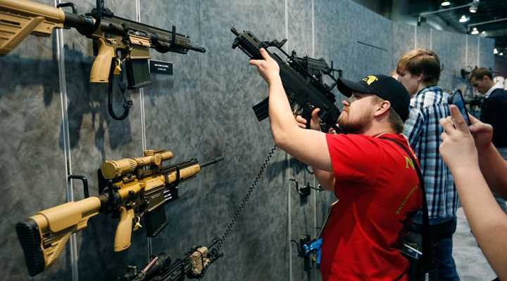 2016 SHOT Show in Las Vegas Contrasts with Clown Show in D.C.
