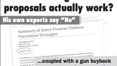 Obama's Experts Newspaper Ad