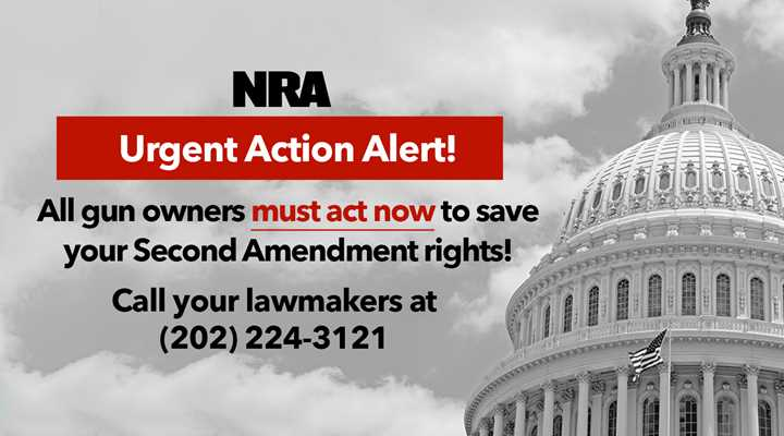 Act Now to Save the Second Amendment—Contact Your U.S. Senators Today