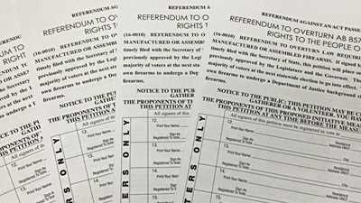 California: Signature Efforts Still Underway for Veto Gunmageddon Referendum