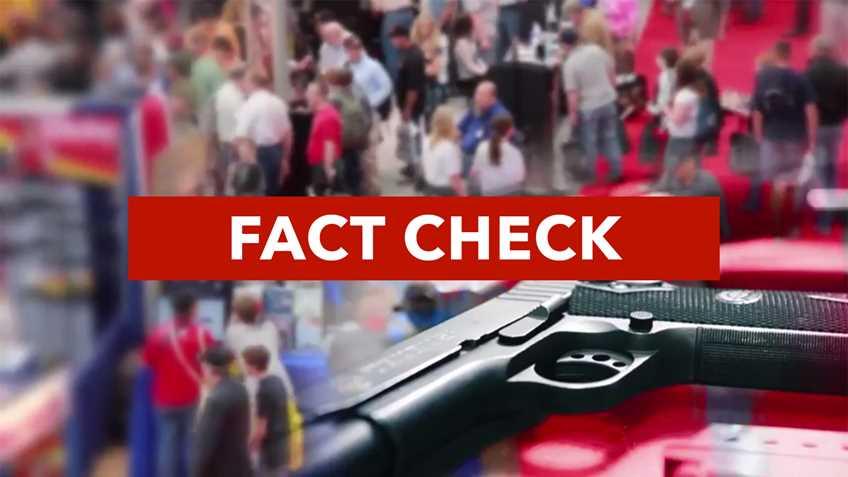Fact Check: NRA Nevadans for Freedom Fact Checks Gun Control TV Ad