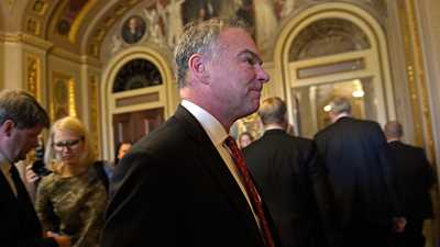 """Democratic VP Candidate Tim Kaine on Gun Control: """"I can't think of an issue I'd rather be aligned with than this"""""""