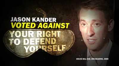 NRA Debunks Jason Kander's Second Amendment Lies in New Ad