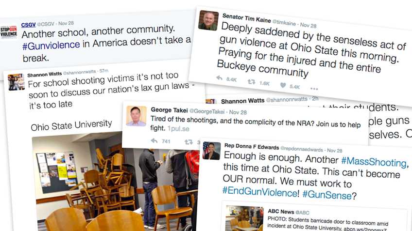 Gun Control Supporters Race to Embarrass Themselves Following OSU Stabbing Attack