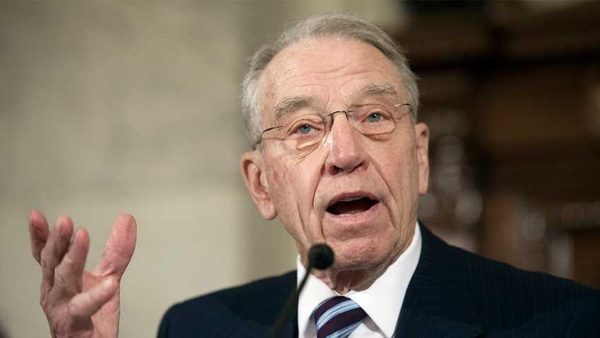 NRA Applauds Sen. Chuck Grassley for Introducing S.J Res. 14