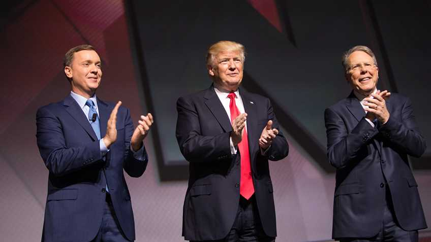 NRA-ILA Leadership Forum: President Trump Vows Continued Fight for Freedom