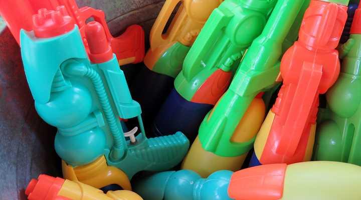 "Toy Guns ""Bad""! Toy Grenades ""Good""!?"