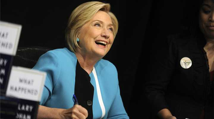 """""""What Happened"""": Clinton Recognizes NRA's Power, Rewrites History, and Urges Dems to Double-down on Gun Control"""