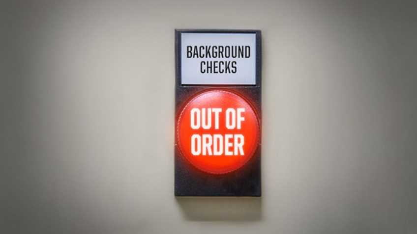 """Bad News For """"Universal"""" Background Check Supporters"""