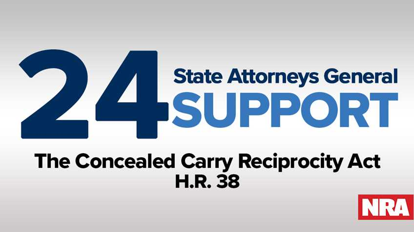 State Attorneys General Back National Reciprocity