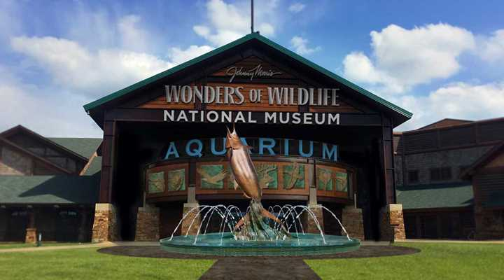 """Vote today for the Wonders of Wildlife Museum & Aquarium as America's """"Best New Attraction."""""""