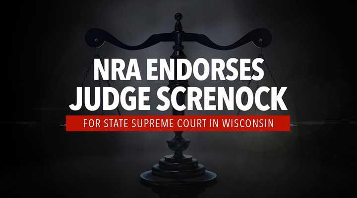 NRA Endorses Screnock for State Supreme Court