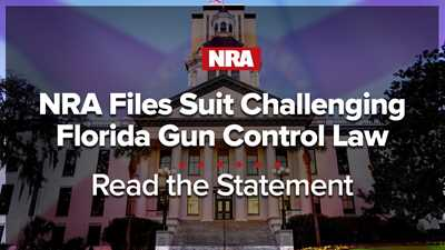 NRA Files Suit Challenging Florida Gun Control Law