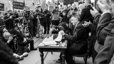 Vermont: Flip-Flop Phil Signs Historic Gun Control Bill