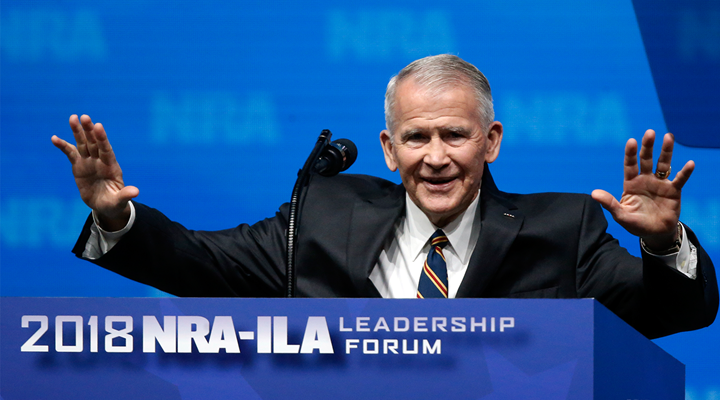 Lt. Col. Oliver North Poised to Become NRA President