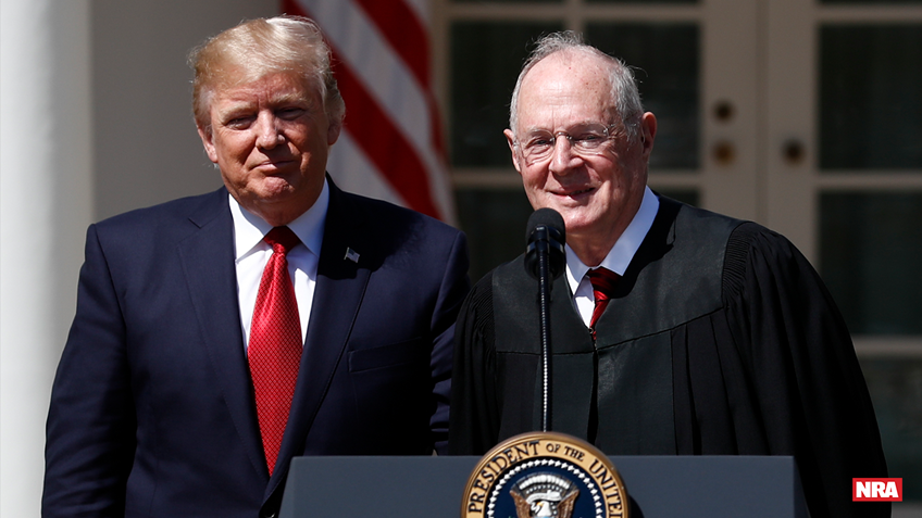 With Kennedy Retirement, Trump Can Secure and Strengthen a Pro-Second Amendment Supreme Court