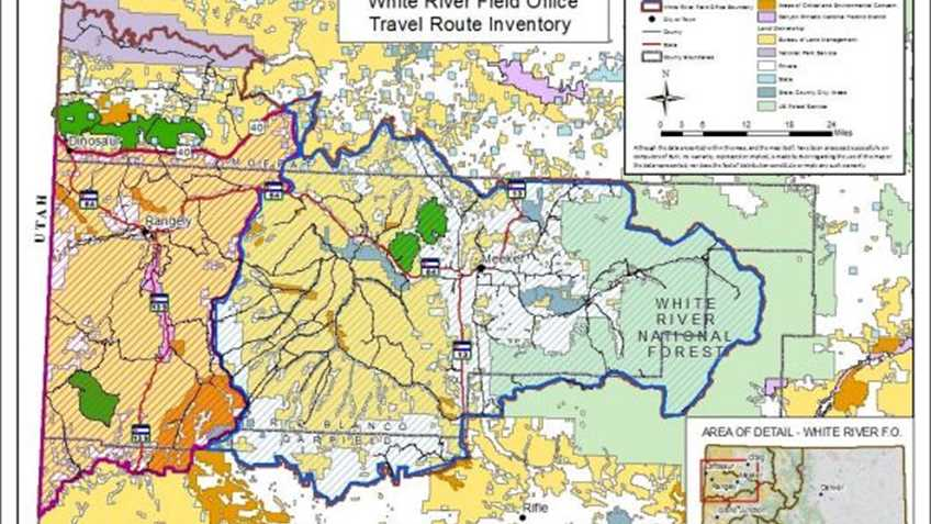 BLM's Plan Will Manage Use of Vehicles on Public Lands in Northwestern Colorado