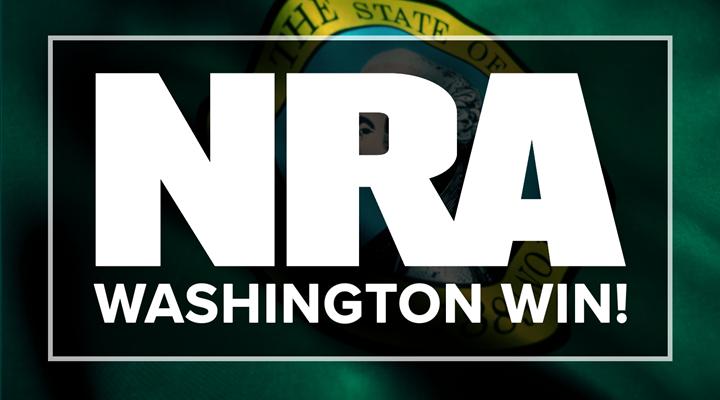 NRA wins Washington case, stops gun control initiative from going to ballot