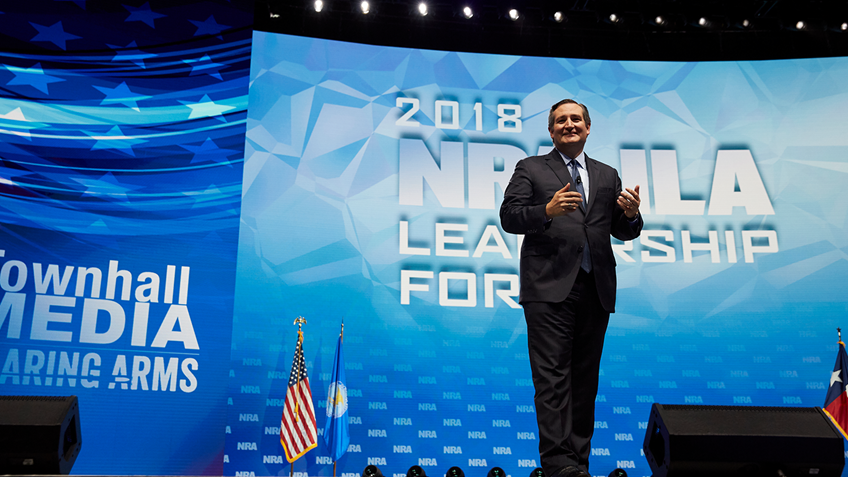 NRA Endorses Ted Cruz for Re-election in U.S. Senate