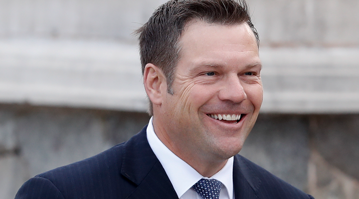 NRA Endorses Kobach for Kansas Governor