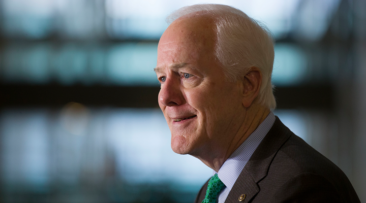 NRA Applauds Sen. Cornyn for Introducing Reciprocity Legislation