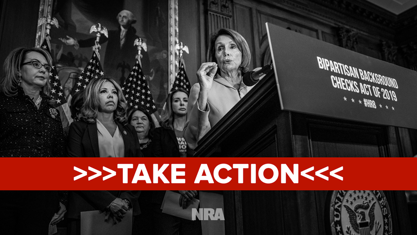"""Tell Your Members of Congress to Oppose """"Universal"""" Background Check Bills"""