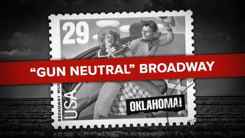 Oklahoma! Musical Producers Take Anti-gun Pandering Clear Up to the Sky