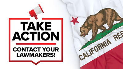 California: Appropriations Committees to Hear Bills Next Week!