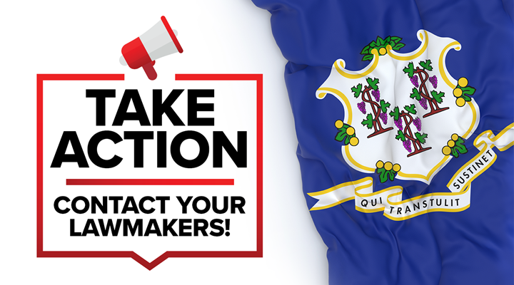 Connecticut: Your Action Needed – Urge Your Senator to Oppose Unnecessary Gun Control Legislation
