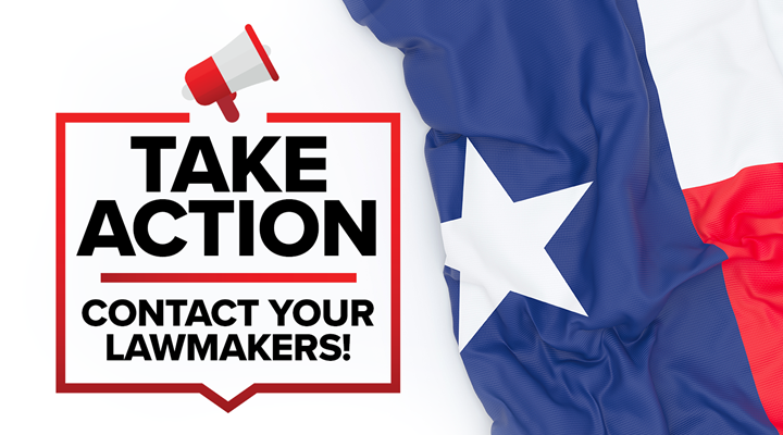 Texas: Contact Your State Lawmakers & Urge Them To Sign On To Permitless Carry Legislation: HB 1238 (Rep. Biedermann), HB 1927 (Rep. Schaefer), HB 1587 (Rep. White), and SB 540 (by Sen. Springer)