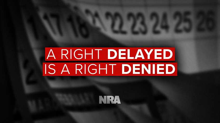 Turning a Right into a Privilege: HR 1112 Gives Feds Unfettered Power to Block Gun Sales