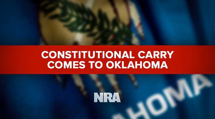 Oklahoma Enacts Constitutional Carry Law