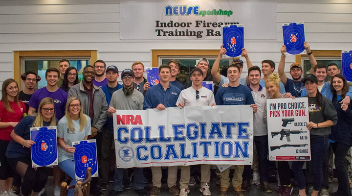 Grassroots Spotlight: NRA Collegiate Coalition at ECU--Making a Difference on Campus